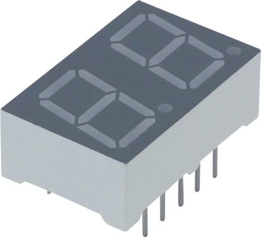 7-Segment-Anzeige Rot 10 mm 2 V Ziffernanzahl: 2 Lite-On LTD-4708JR