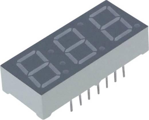 Lite-On 7-Segment-Anzeige Gelb 10 mm 2.05 V Ziffernanzahl: 3 LTC-4624JS