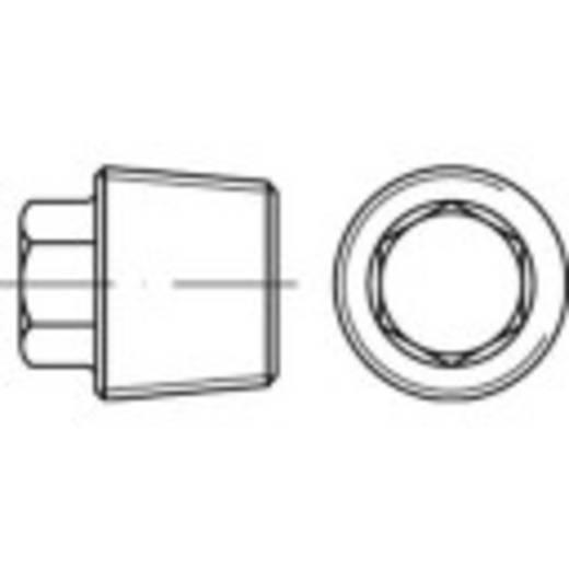 Verschlussschrauben 1/4 Zoll Außensechskant DIN 909 Stahl 100 St. TOOLCRAFT 112758