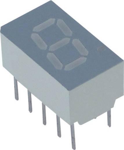 7-Segment-Anzeige Rot 7.62 mm 2.1 V Ziffernanzahl: 1 Lite-On LSHD-7501