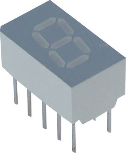 Lite-On 7-Segment-Anzeige Rot 7.62 mm 2.1 V Ziffernanzahl: 1 LSHD-A101