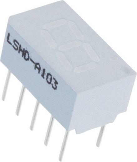 7-Segment-Anzeige Rot 7.62 mm 2.1 V Ziffernanzahl: 1 Lite-On LSHD-A103