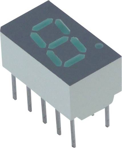 7-Segment-Anzeige Grün 7.62 mm 2.1 V Ziffernanzahl: 1 Lite-On LSHD-7803