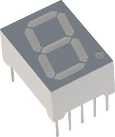 7-Segment-Anzeige Rot 14.22 mm 2.1 V Ziffernanzahl: 1 Lite-On LSHD-5503