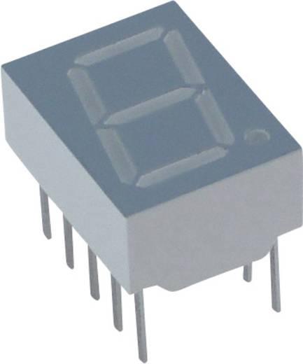 Lite-On 7-Segment-Anzeige Rot 10 mm 2.1 V Ziffernanzahl: 1 LSHD-F101