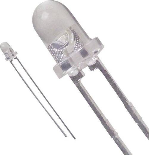 Lite-On LTW-420C5 LED bedrahtet Weiß Rund 3 mm 2.6 cd 25 ° 30 mA 3.6 V