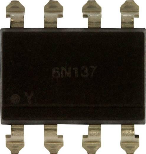 Lite-On Optokoppler Phototransistor 6N137S-TA1 SMD-8 Offener Kollektor DC