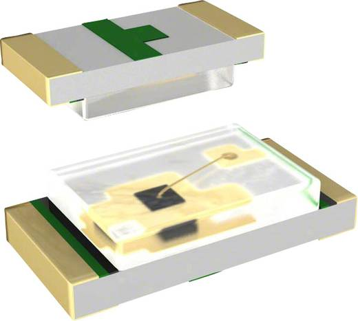Lite-On LTST-C194KGKT SMD-LED 1608 Grün 65 mcd 130 ° 20 mA 2.1 V