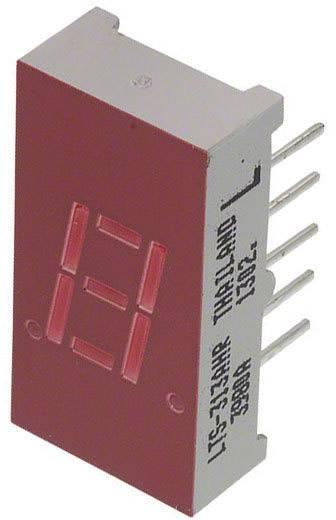 7-Segment-Anzeige Rot 7.65 mm 2 V Ziffernanzahl: 1 Lite-On LTS-313AHR