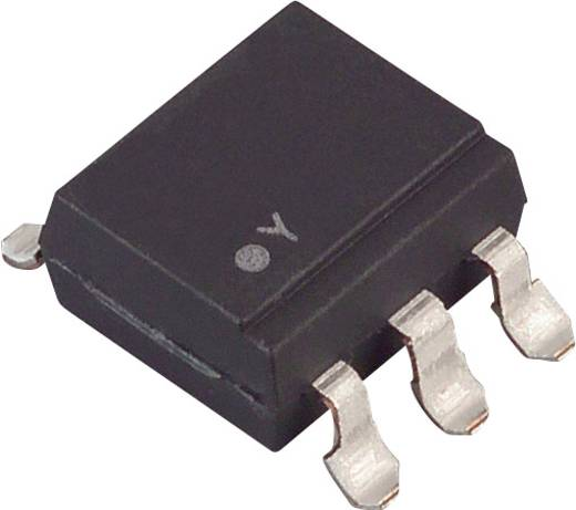 Optokoppler Phototransistor Lite-On CNY17-4S-TA1 SMD-6 Transistor mit Basis DC