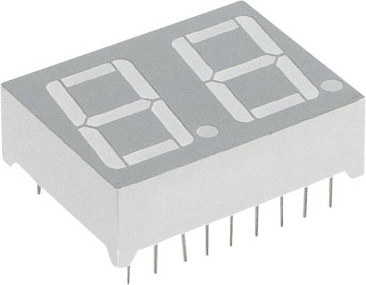7-Segment-Anzeige Grün 14.22 mm 2.1 V Ziffernanzahl: 2 Lite-On LTD-6410G