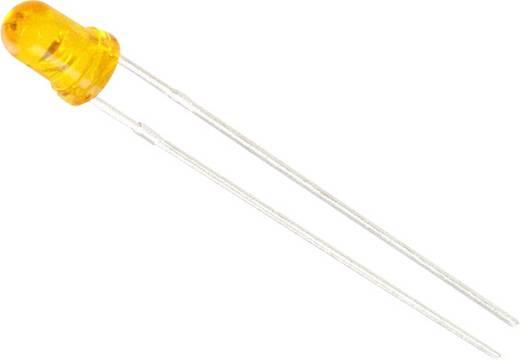 LED bedrahtet Bernstein Rund 3.1 mm 29 mcd 45 ° 20 mA 2.1 V Lite-On LTL-1CHAE