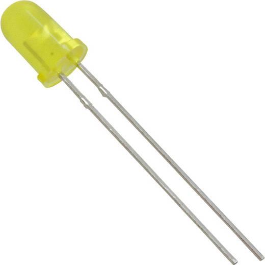 LED bedrahtet Gelb Rund 5 mm 3.7 mcd 50 ° 7 mA 1.8 V Lite-On LTL-307YLC
