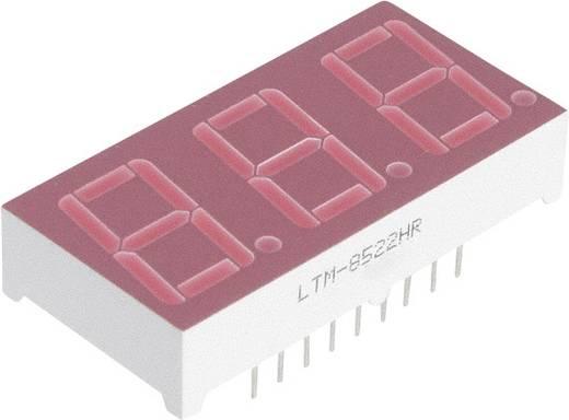 Lite-On 7-Segment-Anzeige Rot 14.22 mm Ziffernanzahl: 3 LTM-8522HR