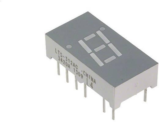 7-Segment-Anzeige Grün 7.62 mm 2.1 V Ziffernanzahl: 1 Lite-On LTS-312AG