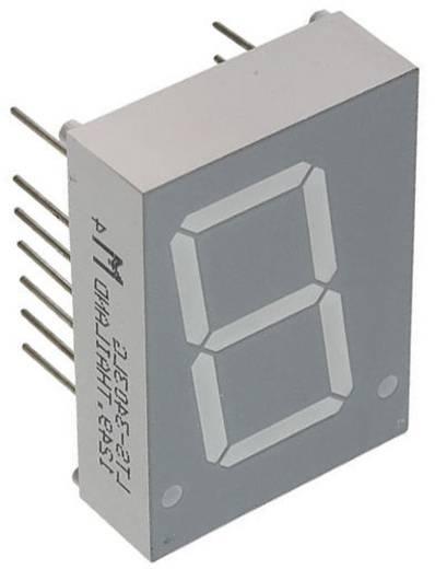 7-Segment-Anzeige Grün 20.32 mm 2.1 V Ziffernanzahl: 1 Lite-On LTS-3403LG