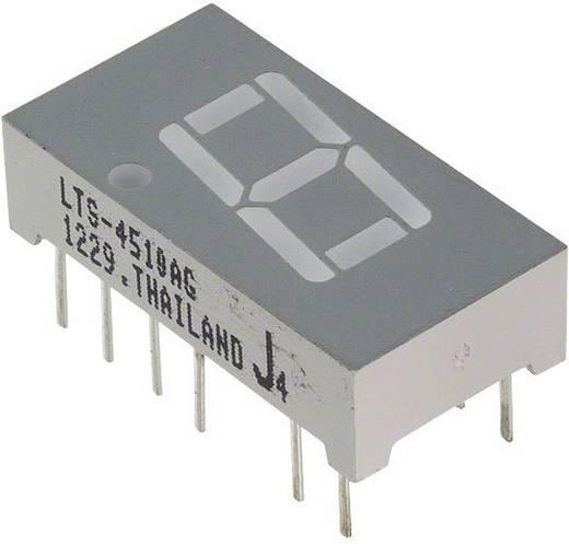 7-Segment-Anzeige Grün 10.16 mm 2.1 V Ziffernanzahl: 1 Lite-On LTS-4510AG