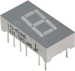 Afficheur 7 segments Lite-On LTS-4510AG Nombre de chiffres: 1 vert 10.16 mm 2.1 V 1 pc(s)