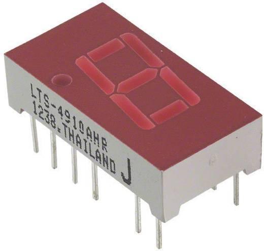 7-Segment-Anzeige Rot 10.16 mm 2 V Ziffernanzahl: 1 Lite-On LTS-4910AHR
