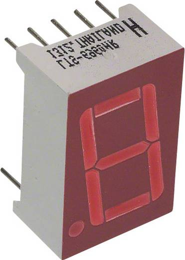 7-Segment-Anzeige Rot 14.22 mm 2 V Ziffernanzahl: 1 Lite-On LTS-6960HR