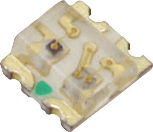 SMD-LED 1613 Blau, Rot 45 mcd 130 ° 20 mA 3.3 V, 2 V Lite-On LTST-C195TBJRKT