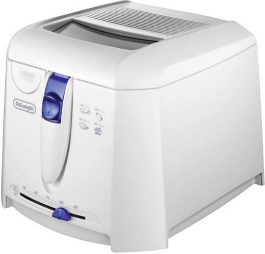 Fritteuse 1800 W DeLonghi F 27201 Weiß