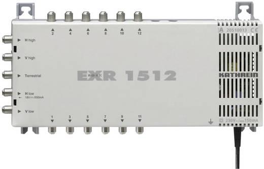 SAT Multischalter Kathrein EXR 1512 Eingänge (Multischalter): 5 (4 SAT/1 terrestrisch) Teilnehmer-Anzahl: 12