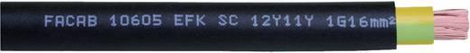 Faber Kabel 035315 Schleppkettenleitung EFK SC 12Y11Y 1 x 10 mm² Schwarz Meterware