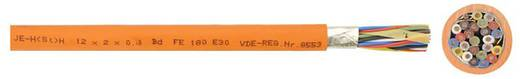 Brandmeldekabel JE-H(ST)H...BD...E30 2 x 2 x 0.8 mm Orange Faber Kabel 100418 Meterware