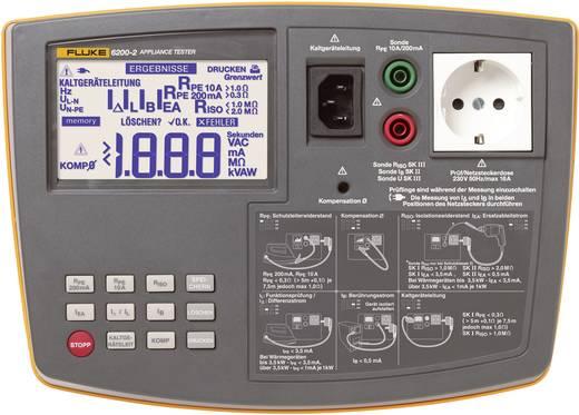 Installationstester Fluke 6200-2 EN61557-1: 1997EN61557-2: 1997EN61557-4: 1997EN61557-6: 1997DIN VDE0404