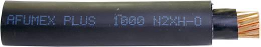 Faber Kabel 013385 Starkstromkabel N2XH-J 4 x 2.50 mm² Schwarz Meterware