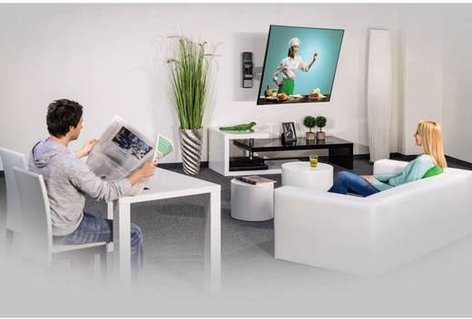 "TV-Wandhalterung 25,4 cm (10"") - 66,0 cm (26"") Neigbar+Schwenkbar, Rotierbar Hama FULLMOTION ""Ultraslim"" XS 1 ruka"