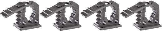 Quick Fist® Fahrzeug-Gerätehalter Mini 4-er Pack Spannbereich 12.7 bis 25.4 mm · Max. 11 kg pro Halter · 5 Befestigungsl