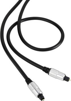 Digitální audio kabel Toslink SpeaKa, 5 m, černá