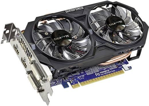 Grafikkarte Gigabyte Nvidia GeForce GTX750 Ti Overclocked 2 GB GDDR5-RAM DVI, HDMI™