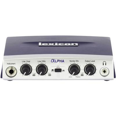 Audio Interface Lexicon Alpha Monitor-Controlling Preisvergleich