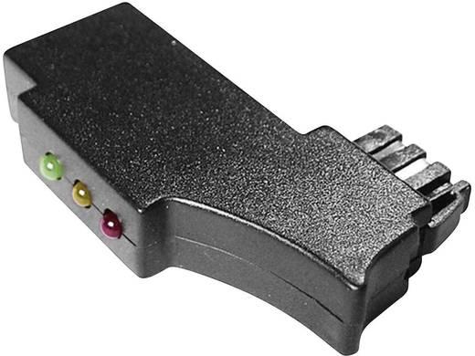 TAE-Prüfstecker mit Status-LEDs Schwarz Inhalt: 1 St.