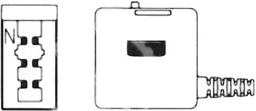 TAE-Bausatz Buchse, gerade N-Kodierung Schwarz Inhalt: 1 St.