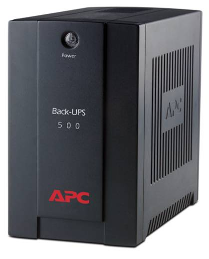 USV 500 VA APC by Schneider Electric Back UPS BX500CI