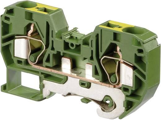 Schutzleiterklemme 12 mm Zugfeder Belegung: PE Grün-Gelb ABB 1SNA 399 584 R2200 1 St.