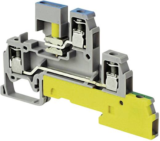 Installationsetagenklemme 6 mm Schrauben Belegung: PE, N, L Grau ABB 1SNA 110 439 R2200 1 St.