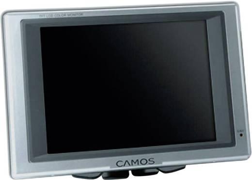 Kabel-Rückfahrvideosystem Rückfahrvideosystem RV-563 Camos Heavy Duty Kamera, 2 Kamera-Eingänge, integriertes Mikrofon,