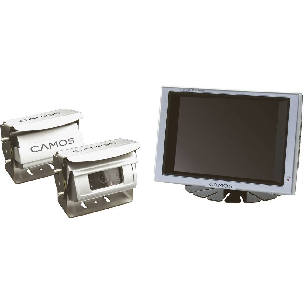 Kabel-Rückfahrvideosystem RV-566 Camos Shutter, 2 Kamera-Eingänge ...
