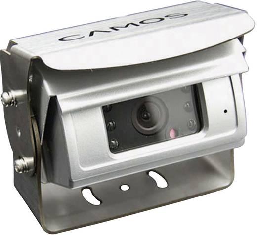 Kabel-Rückfahrvideosystem Rückfahrvideosystem RV-566 Camos Shutter, 2 Kamera-Eingänge, integriertes Mikrofon, integriert