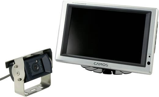 Kabel-Rückfahrvideosystem RV-752 Camos 2 Kamera-Eingänge, integriertes Mikrofon, integrierte Heizung Aufbau