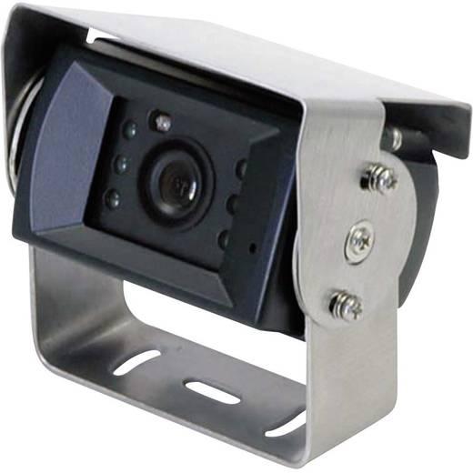 Kabel-Rückfahrvideosystem Rückfahrvideosystem RV-752 Camos 2 Kamera-Eingänge, integriertes Mikrofon, integrierte Heizung