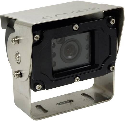 Kabel-Rückfahrvideosystem RV-753 Camos Heavy Duty Kamera, 2 Kamera-Eingänge, integriertes Mikrofon, integrierte Heizung