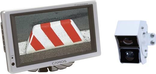 Kabel-Rückfahrvideosystem RV-757 Camos Doppellinse, 2 Kamera-Eingänge, integriertes Mikrofon, integrierte Heizung Aufbau