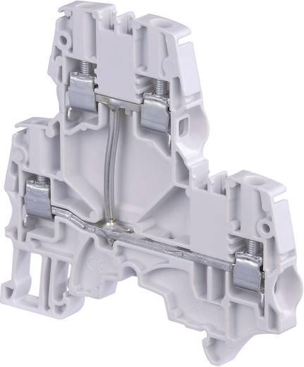 Doppelstock-Durchgangsklemme 6 mm Schrauben Belegung: L Grau ABB 1SNK 506 211 R0000 1 St.