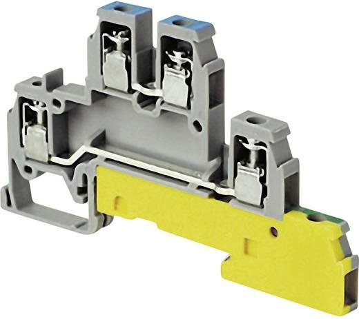 Installationsetagenklemme 6 mm Schrauben Belegung: PE, L Grau ABB 1SNA 110 441 R2400 1 St.
